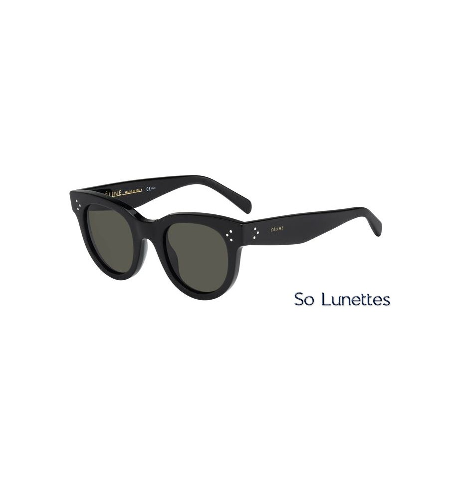 Lunettes de soleil Céline Femme CL 41053 S 807 (1E) monture noire ... 697ed993b050