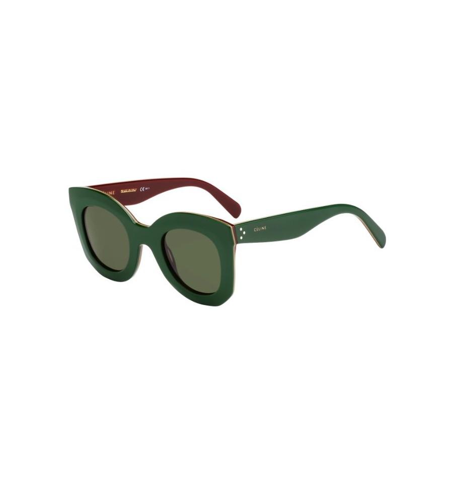 Lunettes de soleil Céline Femme CL 41093 S 3LQ (1E) monture verte ... ce4f4add90dc