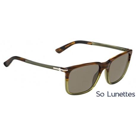 lunettes de soleil gucci homme gg 1104 s i17 x7 havane marron olive et verres marron. Black Bedroom Furniture Sets. Home Design Ideas