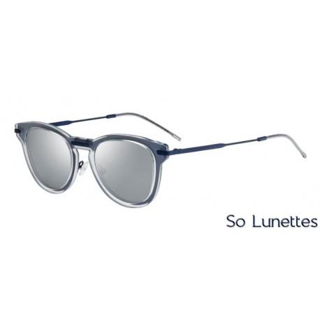f0e56fe25a195b Lunettes de soleil Dior DIOR0198S APL (T4) monture bleue cristal ...