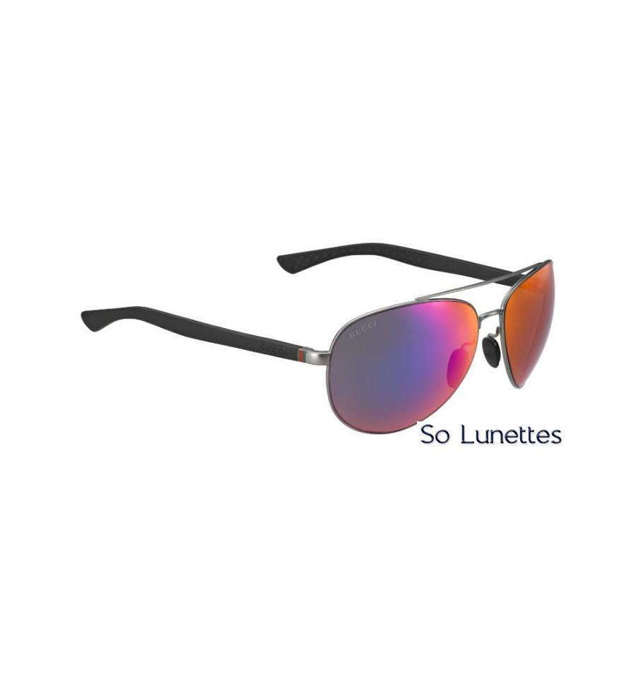 Les lunettes de soleil GG 2266 S – 27H (MI) de la marque Gucci Homme ... 1e65a0f99205