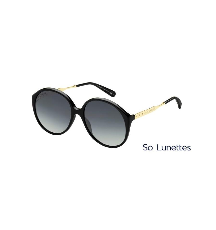 dab7060f0a Lunettes de soleil Femme Marc Jacobs MJ 613/S ANW (HD) monture noire ...