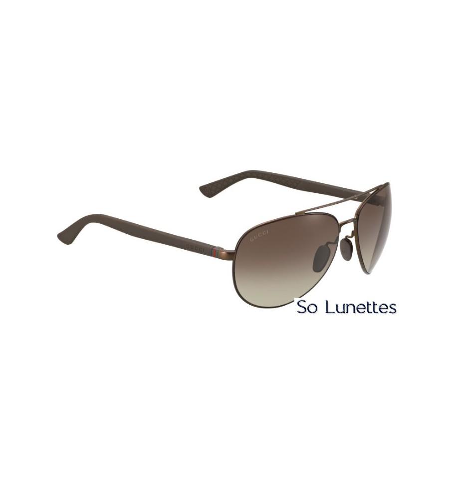 f6e363feaf8 Lunette de soleil de la marque Gucci GG 2266 S – GZL (LA) pour homme ...