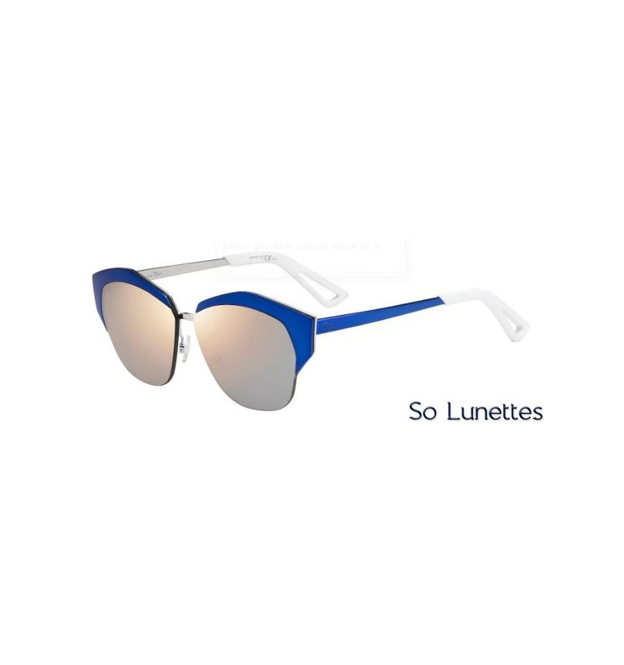 16ebd052fcbcb3 Lunettes de soleil Dior Femme DIORMIRRORED I22 (0J) monture bleue ...