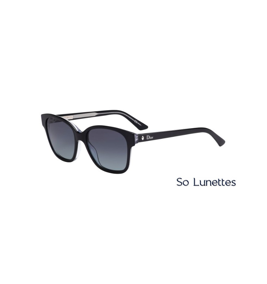 9417a3083931f5 Lunettes de soleil DIOR MONTAIGNE8S-G99(HD) avec une monture noire ...