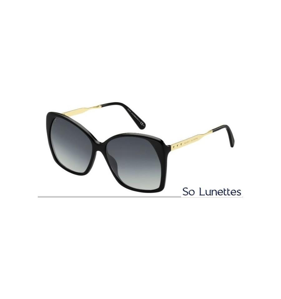 dc70839590e6aa Lunettes de soleil Femme Marc Jacobs MJ 614 S ANW (HD) monture noire ...