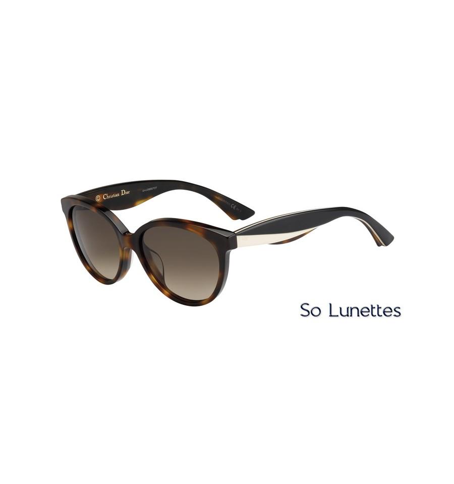 Lunettes de soleil Dior Femme DIORENVOL3 LWG (HA) havane noire ivoire d2768167bf51