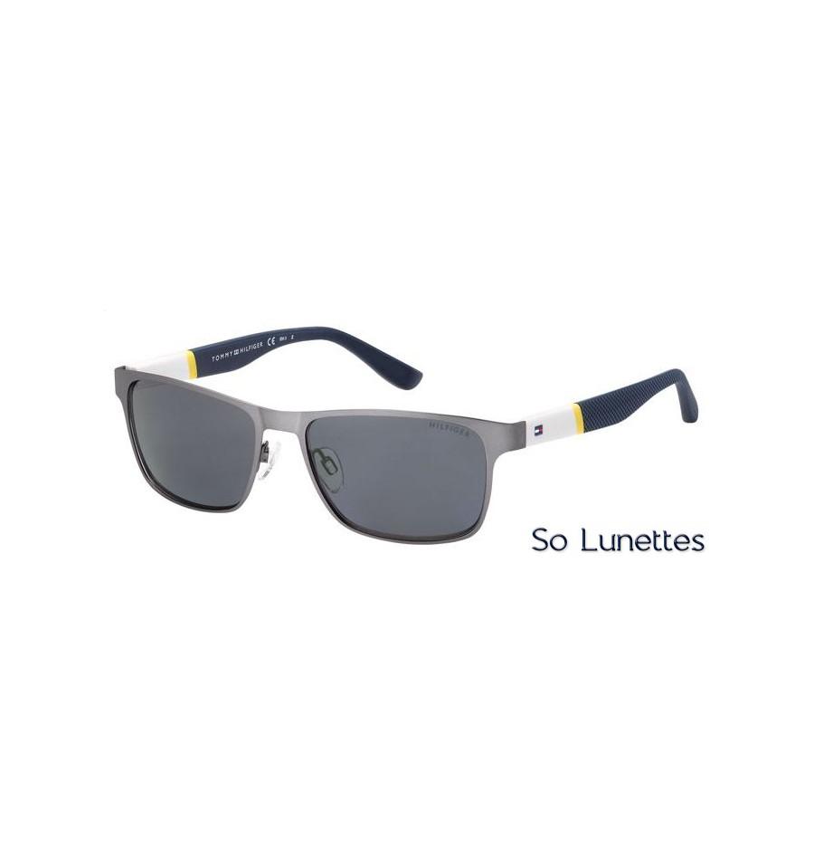 85d019d9a31d Lunettes de soleil Tommy Hilfiger homme TH 1283 S FO5 (3H) monture ...