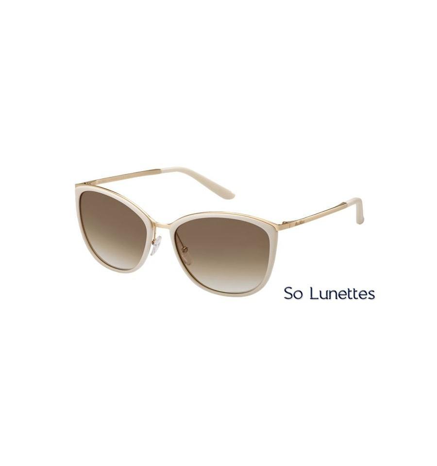 Lunettes de soleil Max Mara femme MM CLASSY I NOC (6Y) monture beige ... 506c885906e7