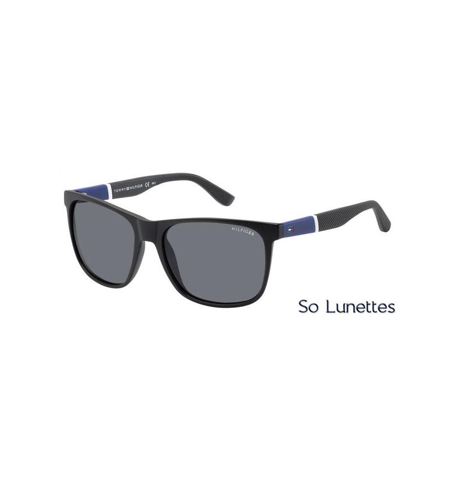41f563fd079fd Lunettes de soleil Tommy Hilfiger homme TH 1281 S FMA (3H) monture ...