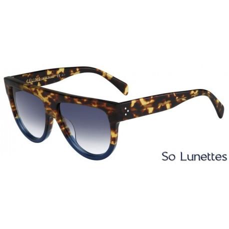 Lunettes de soleil Céline CL 41026/S FU9 (DV) havane bleue