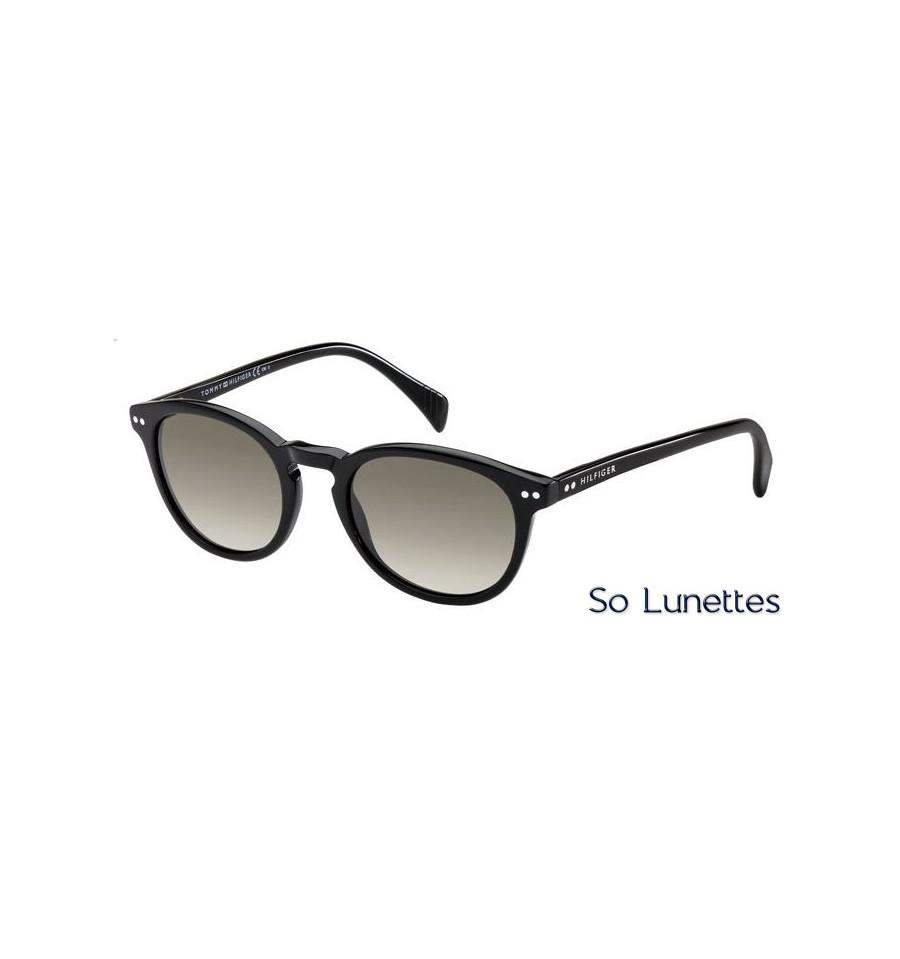 965774896921 Lunettes de soleil Tommy Hilfiger TH 1211 S 807 (HA) monture noire ...