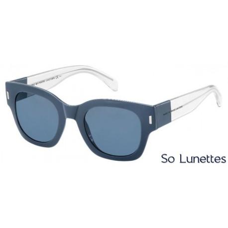 Lunettes de soleil MARC BY MARC JACOBS MMJ 469/S ATX (72) Bleues, cristal