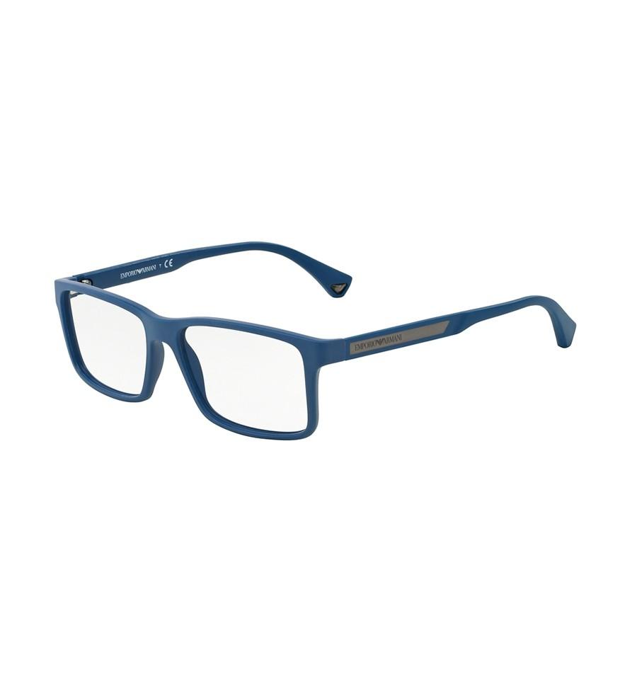 62a51ba7be Lunettes de vue Emporio Armani Homme Modern (AR) 0EA3038 bleu caoutchouc