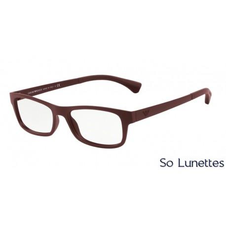 ff71ae5021a Lunettes de vue Emporio Armani Homme Essential Leasure 0EA3037 5261 ...