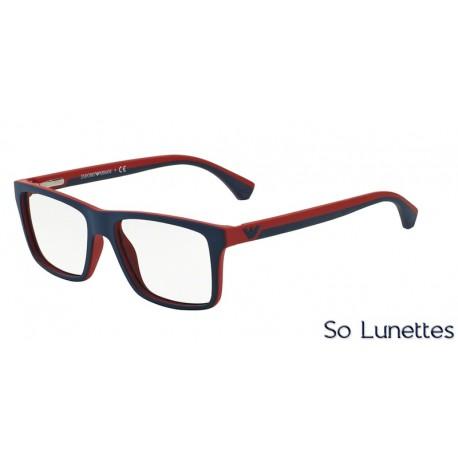 a7e8fa2035938 Lunettes de vue Emporio Armani Homme Modern (Ar) 0EA3034 bleu rouge