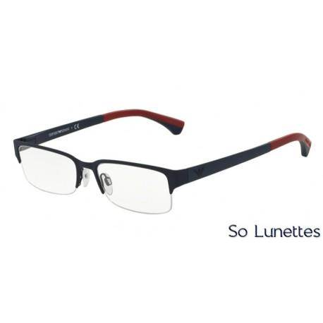 Lunettes de vue Emporio Armani Homme Essential Leasure 0EA1033 bleu caoutchouc