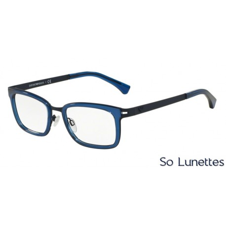 Lunettes de vue Emporio Armani Homme Trend 0EA1034 bleu foncé caoutchouc