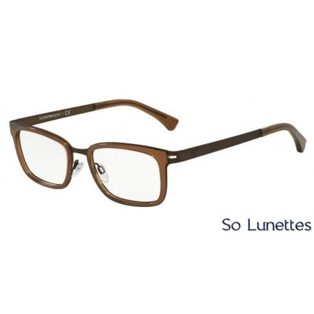 Lunettes de vue Emporio Armani Homme Trend 0EA1034 marron caoutchouc