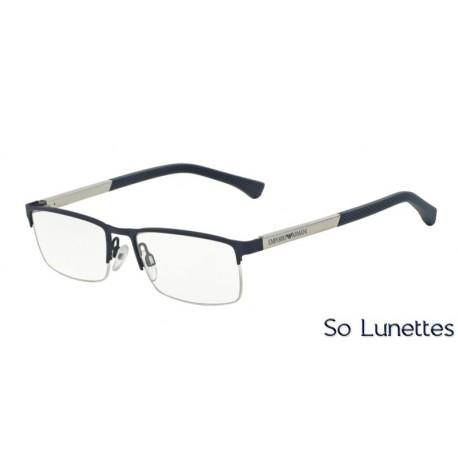 Lunettes de vue Emporio Armani Homme Modern (AR) 0EA1041 bleu caoutchouc 2393ad6753ce