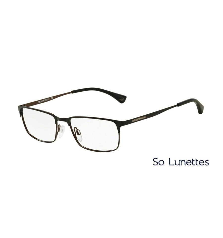 6e8562c9bbbcd Lunettes de vue Emporio Armani Homme Essential Leasure 0EA1042 3127 ...