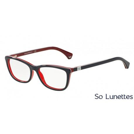 2bd494327a Lunettes de vue Emporio Armani Femme Modern (AR) 0EA3052 bleu blanc rouge