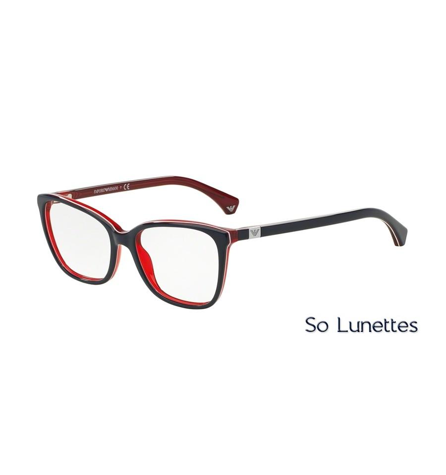 1c399c24ac Lunettes de vue Emporio Armani Femme Modern(Ar) 0EA3053 bleu blanc rouge