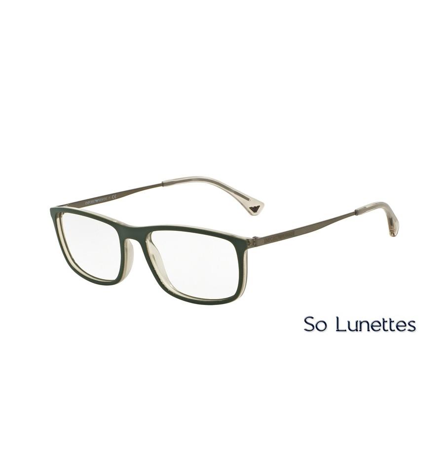 Lunettes Ea3070 Monture Armani De 5470 Vue Emporio Homme Verte OP8kNwn0X