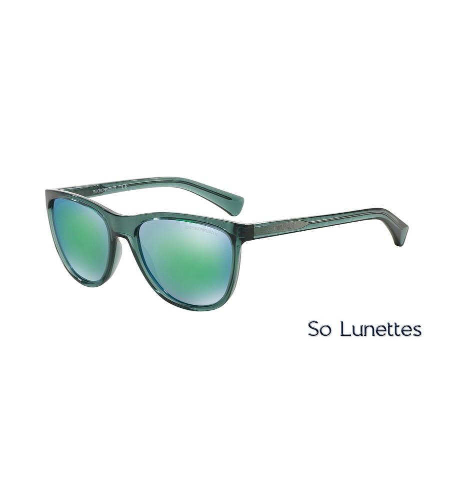 0c332f26ed Lunettes de soleil Emporio Armani Homme EA4053 537531 monture Verte ...