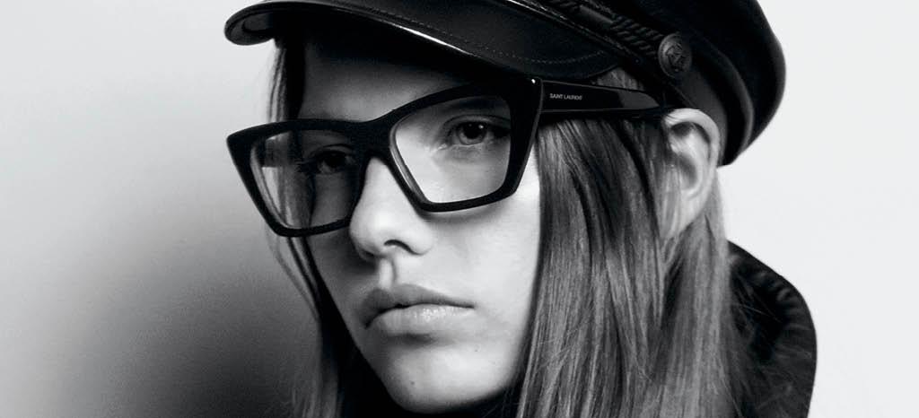 Campagne lunettes de vue Saint Laurent